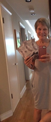 Ann Cowan w/2 copies! in the West End, Vancouver, BC