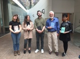 Dead Poets Reading Mother's Day, May 13, 2017 at VPL