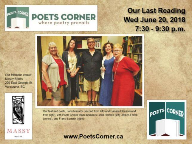 Poets Corner group
