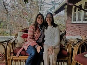 Jill & I on the front porch of Kangaroo B&B